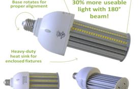 180° Corn LED